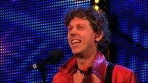 Maarty Broekman woost Alesha with his Keytar Week 6 Auditions Britains Got Talent 2013