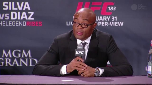 Anderson Silva answers questions about if UFC 183 was his last fight