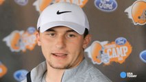 Browns QB Johnny Manziel enters treatment