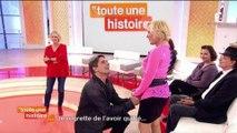 Toute une histoire (France 2) : une demande en mariage sur le plateau !
