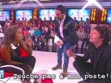 Touche pas à mon poste - Christophe Carrière lèche les pieds de Karine Le Marchand - Lundi 5 janvier  2015