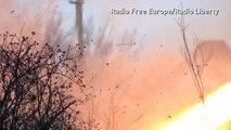 Ukraine: Pro-Russian rebels fire rockets in Vuhlehirsk