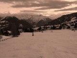 Ski neige : Direction les pistes de ski : La poudreuse