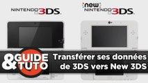 Comment transférer ses données d'une 3DS vers une New 3DS