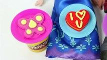 FROZEN Anna and Kristoff Valentine's Day Play Doh Disney Frozen Princess Anna Doll San Valentín