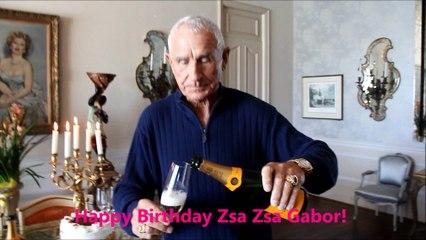 Christy Oldham Interviews Frederic Prinz Von Anhalt about Zsa Zsa Gabor 98th Birthday