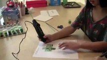 How to make a 3Doodler Minecraft Mini Creeper (DIY 3Doodler Project)