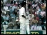 Alvin Kallicharran 80, Clive Lloyd 132, vs England 1st test 1973