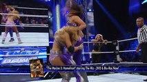 Layla and Kaitlyn vs. Aksana and Tamina Snuka