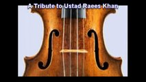 Violin tune Ustad Raees Ahmad Khan Kabhi to tum ko yad ayengi Pakistani instrumental music