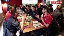 Coupe de France. Repas diététique pour les Concarnois