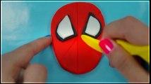 play doh marvel superhero toys spiderman playdough toy creations