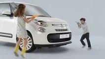 Leo Burnett France pour Fiat - voiture Fiat 500L Petit Bateau, «Pour petits et grands enfants» - février 2015 - water fight