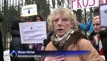Action avec Rosen pour l'abolition de la prostitution devant le Sénat !