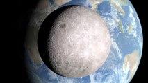 La NASA muestra el lado oscuro de la luna