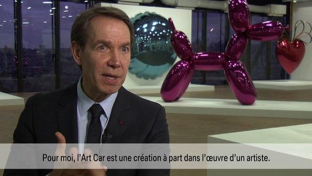 """Art Cars de l'exposition """"Jeff Koons, la rétrospective"""" au centre Georges Pompidou à Paris"""