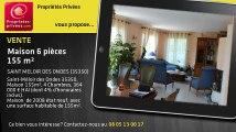 A vendre - maison - SAINT MELOIR DES ONDES (35350) - 6 pièces - 155m²