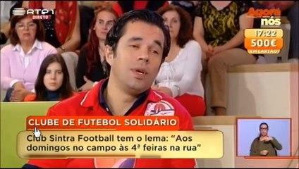 Sintra Football - A Jogar e a Ajudar - Sr. António recuperado