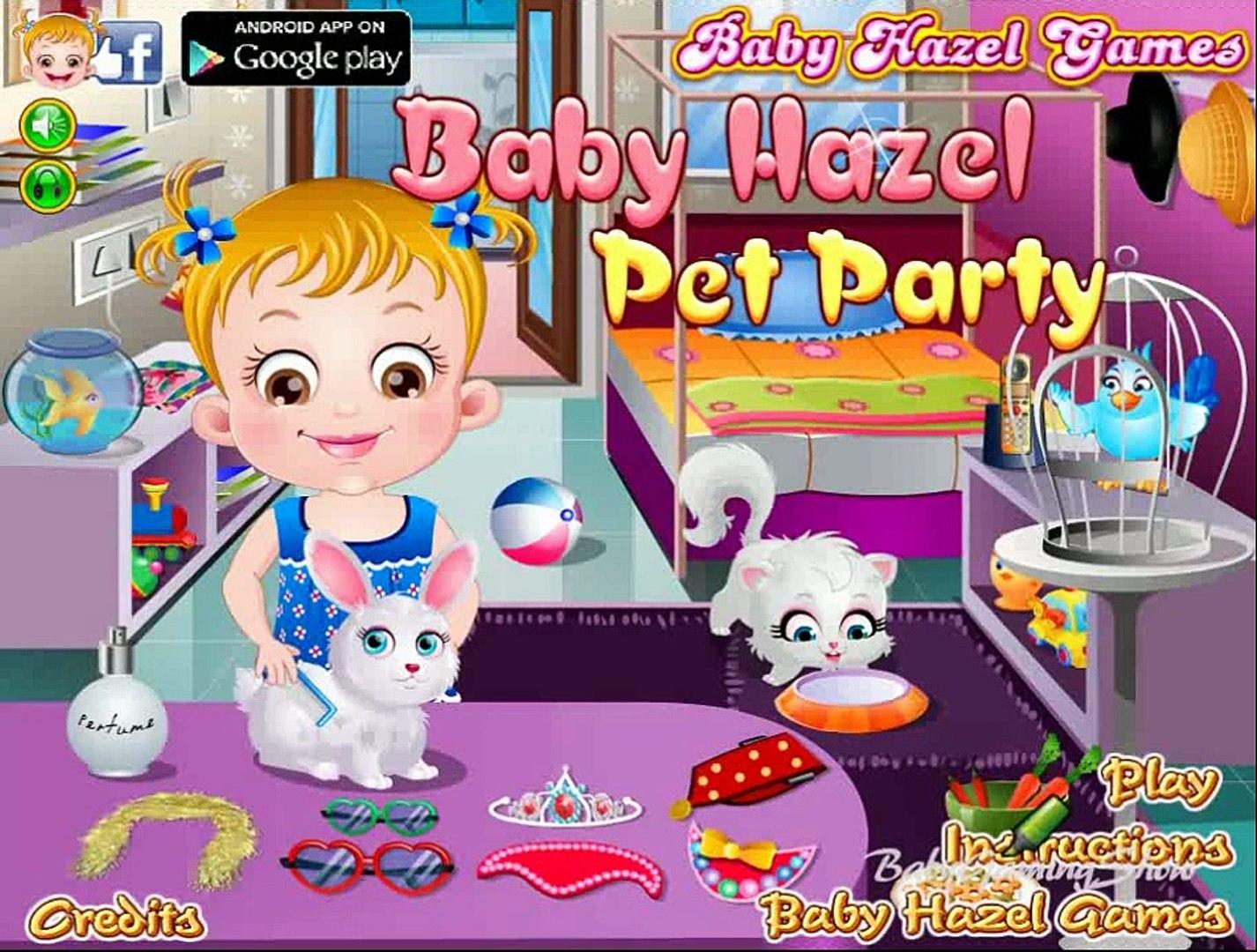 Baby Hazel Pet Party - Baby Hazel Game