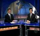 Steve Carell et Stephen Colbert dans le « Daily Show »