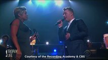 Sam Smith Emotional -Stay With Me- Grammys 2015 Performance with Mary J Blige