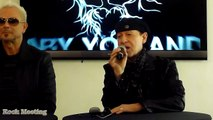 SCORPIONS Press Conference Paris - Return To Forever - Multi Cam Klaus Meine Rudolf Schenker 09/02/15