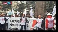 """Mimar ve Mühendisler """"Torba Yasa""""Yı Protesto Etti"""