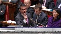 Guillaume Larrivé demande la démission de Taubira, Manuel Valls la soutient