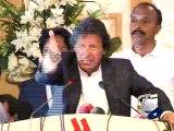 Imran Khan continues tirade against Altaf Hussain-Geo Reports-10 Feb 2015 -
