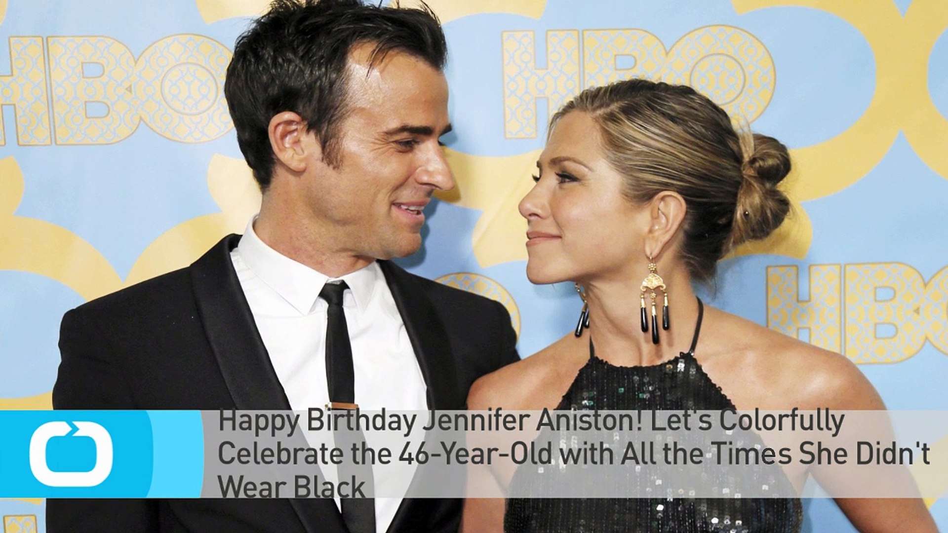 Happy Birthday Jennifer Aniston! Let's Colorfully Celebrate the 46-Year-Old With All the Times