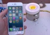 Mira lo que pasa cuando se vierte aluminio sobre un iPhone 6