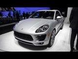 2014 Porsche Macan S & Macan Turbo - Detroit 2014 Walkaround