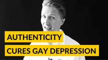 Gay Life Coaching - Authenticity Cures Gay Depression For Dating And Gay Relationships