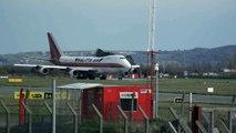 Kalitta Air Boeing 747-200F  Departing From Dublin International Airport Ireland