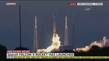 SpaceX Falcon 9 Rocket Launches