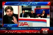 EXPRESS Takrar Imran Khan with MQM Asif Husnain (11 FEB 2015)
