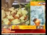Sabzi Keema Mix And Anday Chanay Gravy Recipe_ Lazzat With Asad