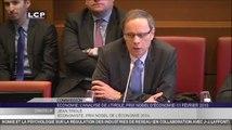 TRAVAUX ASSEMBLEE 14E LEGISLATURE : Audition de Jean Tirole, prix Nobel d'Économie, par la commission des finances.