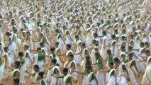 5000 femmes dansent en Inde (Record du monde)