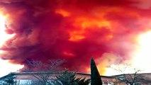Un nuage toxique crée la panique au-dessus de Barcelone