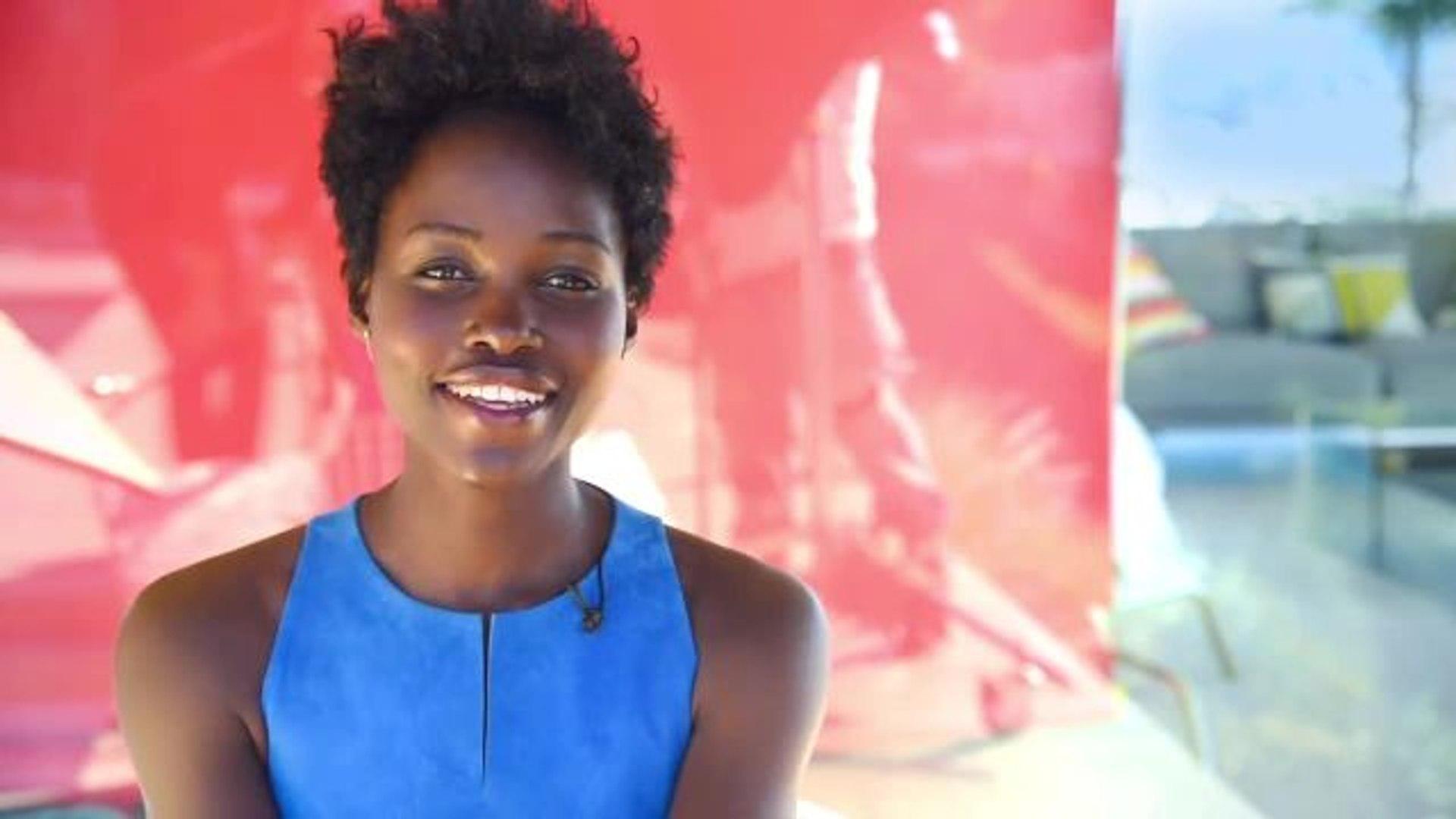 Lupita Nyong'o Behind the Scenes