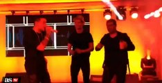 Cristiano Ronaldo singing & dancing at birthday party hours after Atletico defeat