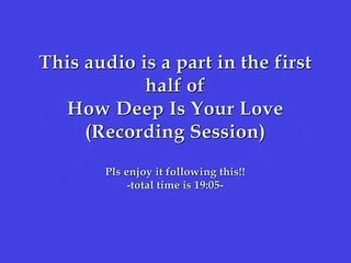 Bee Gees - How Deep Is Your Love (First half of Composition Session)