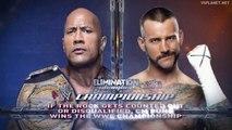 CM Punk vs the Rock, WWE Elimination Chamber 2013