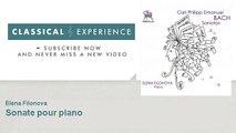 Carl Philipp Emanuel Bach : Sonate pour piano