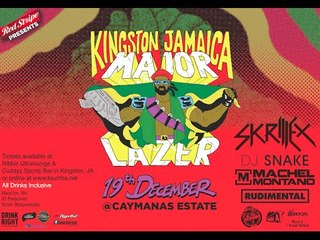Major Lazer in Kingston, Jamaica 2013