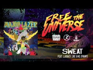 Major Lazer - Sweat featuring Laidback Luke & Ms. Dynamite [OFFICIAL HQ AUDIO]