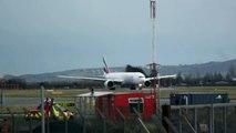 Emirates Airlines Boeing 777-31H(ER)  Departing From Dublin International Airport Ireland To Dubai Uniteb Arab Emirates.