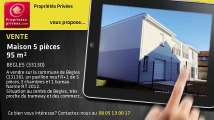 A vendre - maison - BEGLES (33130) - 5 pièces - 95m²