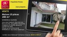 A vendre - maison - WIMEREUX (62930) - 10 pièces - 280m²
